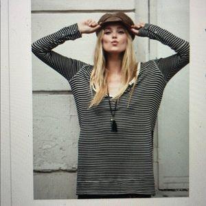 Free people Gwen striped Henley